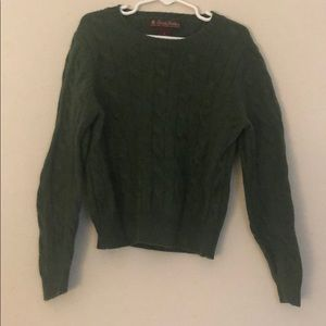 Brooks Brothers Boys Lambswool Cable Sweater SizeS
